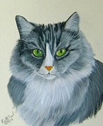 Ruth Seal - Gray Cat