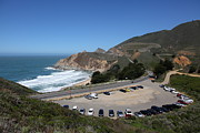 Gray Whale Cove State Beach Montara California 5d22616 Print by Wingsdomain Art and Photography