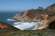 Gray Whale Cove State Beach Montara California 5d22618 Print by Wingsdomain Art and Photography