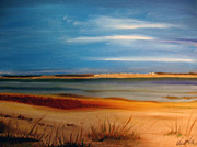 Cape Cod Paintings - Grays Beach Yarmouth Port by Viola Holmgren