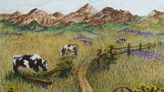 Katherine Young-Beck - Grazing Cows