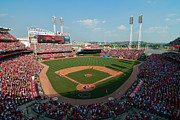 Ballfield Framed Prints - Great American Ballpark Framed Print by Mark Whitt