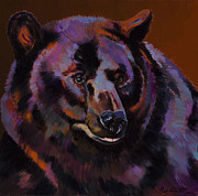 Fauvist Wildlife Art Framed Prints - Great Bear Framed Print by Bob Coonts