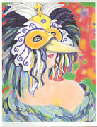 Ellen Howell - Great Blue Heron Mask