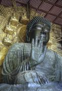 Shogun Photo Prints - GREAT BUDDHA of NARA JAPAN Print by Daniel Hagerman