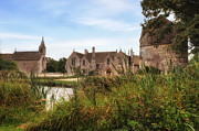 Mansion Photo Prints - Great Chalfield Manor Print by Joana Kruse