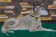 Brindle Prints - Great Dane  Savannah Print by L J Oakes