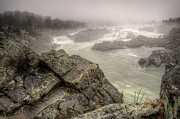Michael Donahue - Great Falls in the fog