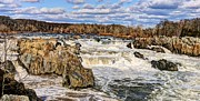 Great Falls Park Maryland Framed Prints - Great Falls Framed Print by JC Findley