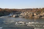 Rocks Photo Posters - Great Falls VA - 121243 Poster by DC Photographer
