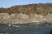 Rocks Photo Prints - Great Falls VA - 121247 Print by DC Photographer