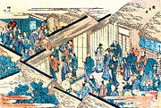 Great Gate New Yoshiwara 1811 Print by Padre Art