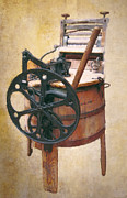 Old Times Digital Art - Great-grandmothers Washing Machine by Daniel Hagerman