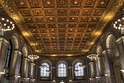 Renovation Framed Prints - Great Hall St. Louis Central Library Framed Print by Jane Linders