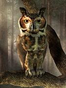 Daniel Eskridge - Great Horned Owl
