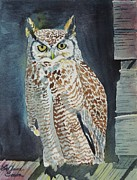 LeAnne Sowa - Great Horned Owl