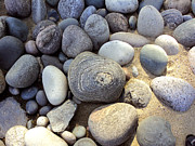 Green Originals - Great Lakes Pebbles by Merv Scoble