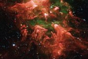 Abstract Stars Metal Prints - Great Nebula in Carina Metal Print by Ayse T Werner