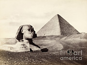 Getty Research Institute - Great Pyramid And The Sphinx 1858