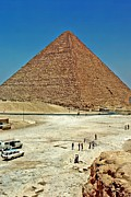 Wonders Of The World Posters - Great Pyramid of Giza Poster by Steve Harrington