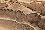 Colorado National Parks Prints - Great Sand Drawing Print by Adam Jewell