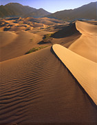 Great Sand Dunes Prints - Great Sand Dunes II Print by Ray Mathis