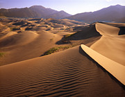 Southwest Landscape Metal Prints - Great Sand Dunes Metal Print by Ray Mathis
