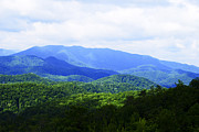 Looming Prints - Great Smoky Mountains Print by Christi Kraft