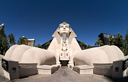 Las Vegas Framed Prints - Great Sphinx of Giza Luxor Resort Las Vegas Framed Print by Edward Fielding