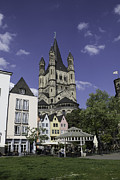 Teresa Mucha - Great St Martin Church Tower in Cologne