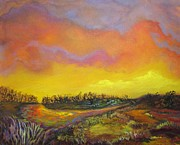Chimneys Originals - Great Swamp at Green Chimneys by Vivian Haberfeld