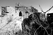 Unrestored Framed Prints - Great Wall Ruins Framed Print by Yew Kwang