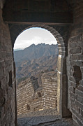 Qin Prints - Great Wall View Print by Matthew Bamberg