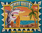 Drinks Photos - Great White by Cheryl Young