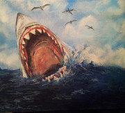 Erik Axebrink - Great white shark