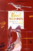 Roadrunner Painting Originals - Greater Beep Beep by Ron Patterson
