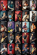Ibanez Prints - Greatest guitarists of all time Print by Taylan Soyturk