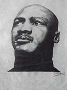 Air Jordan Drawings - Greatest by Joshua Robinson