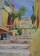 Greece Paintings - Greece by Joshua Morton