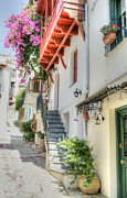Skopelos Prints - Greek Charm Print by David Birchall