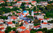 Piecefull Framed Prints - Greek Church - Agios Markos Framed Print by Emmanouil Klimis
