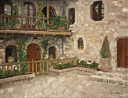 Jan Dappen - Greek Courtyard