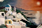 Greek Isles Print by Marilyn Smith