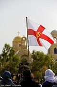 Isaac Silman - Greek orthodox flag