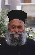 People - Greek Orthodox Priest by Heiko Koehrer-Wagner