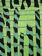 Jennifer Vazquez - Green Abstract