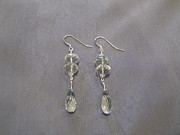 Featured Jewelry - Green amethyst earrings by Jan Durand