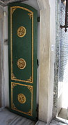 Topkapi Prints - Green And Golden Door - Topkapi Palace Print by Christiane Schulze