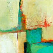 Jane Davies - Green and Red 9