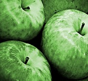 Mythological Photo Prints - Green Apples Print by Chris Berry